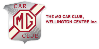 MG Car Club Shield